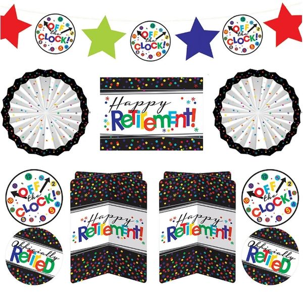 Officially Retired Room Decorating Kit, 10pc