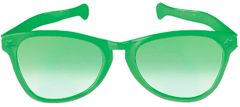 Green Jumbo Glasses