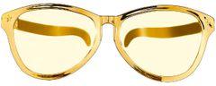 Gold Jumbo Glasses