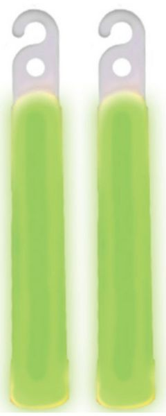 "4"" Glow Stick - Green, 2ct"