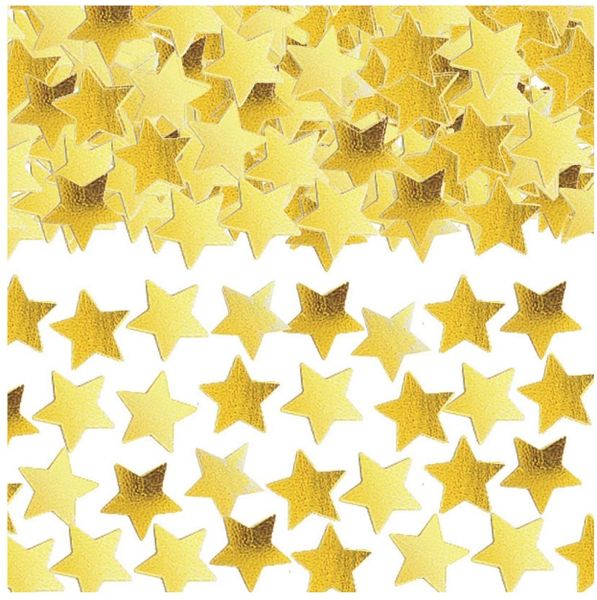 Gold Mini Stars Confetti