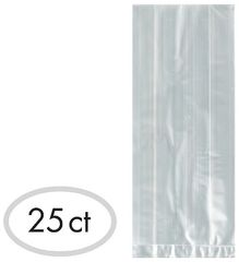 Clear Small Cello Party Bags, 25ct