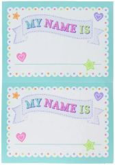 Baby Shower Name Tags, 26ct
