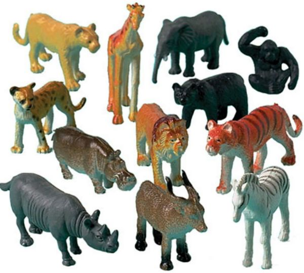 Jungle Animals, 12ct