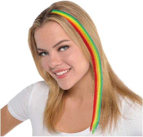 Rainbow Hair Extension