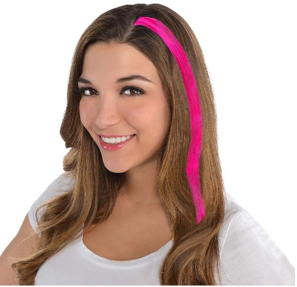 Pink Hair Extension