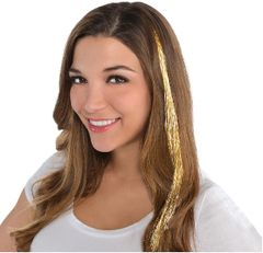Gold Hair Extension