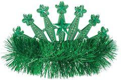 Green Star Tinsel Tiara