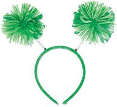 Green Pom-Pom Head Bopper