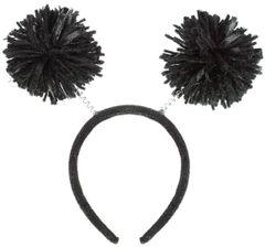 Black Pom-Pom Head Bopper