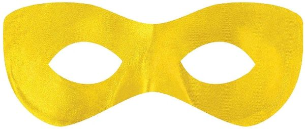 Yellow Super Hero Mask