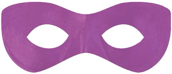 Purple Super Hero Mask