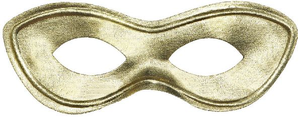 Gold Super Hero Mask