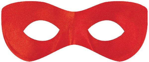 Red Super Hero Mask