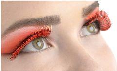 Red Tinsel Eyelashes
