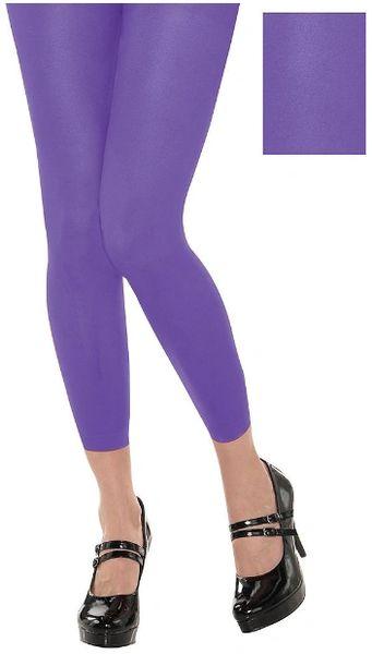 Purple Footless Tights
