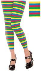 Rainbow Footless Tights