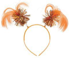 Orange Ponytail Head Bopper