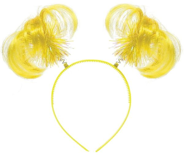 Yellow Ponytail Head Bopper