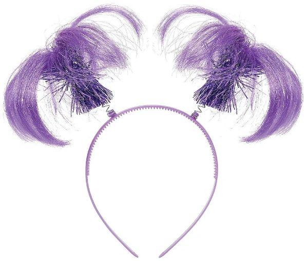 Purple Ponytail Head Bopper