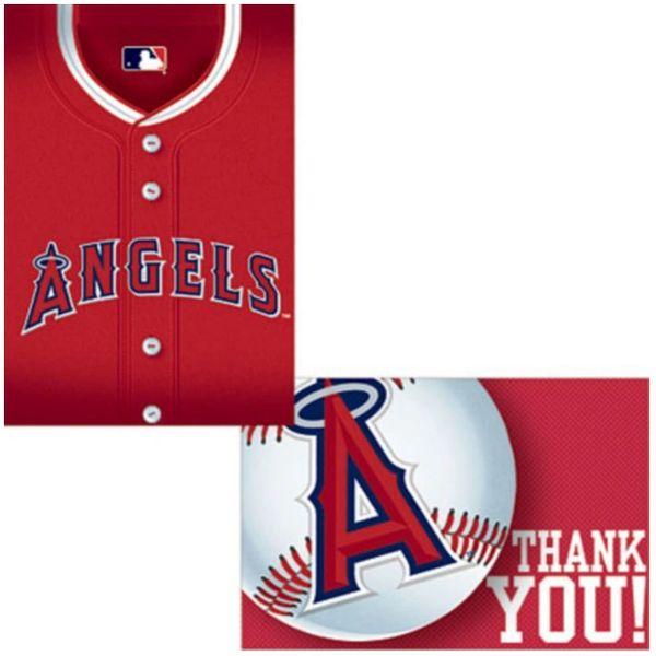 Angels Invitation & Thank You Card Set, 8ct