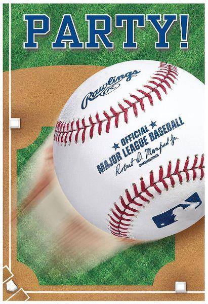 Rawlings™ Baseball Postcard Invitations, 8ct