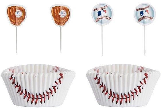 MLB Cupcake Cases & Picks, 24ct