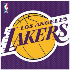 Los Angeles Lakers Lunch Napkins, 16ct