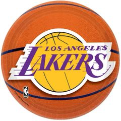 Los Angeles Lakers Dessert Plates, 8ct