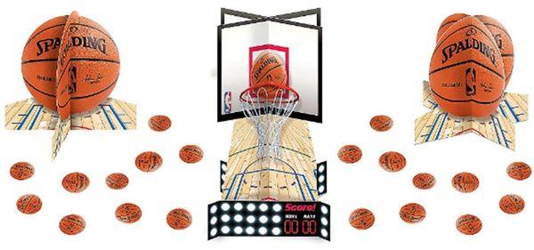 Spalding Basketball Table Decorating Kit, 23pc