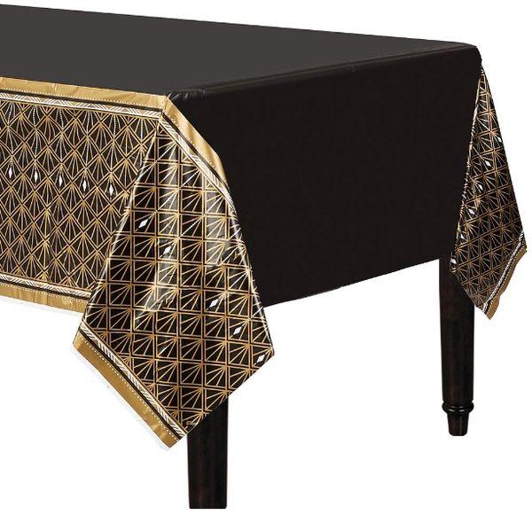 Glitz & Glam Plastic Table Cover