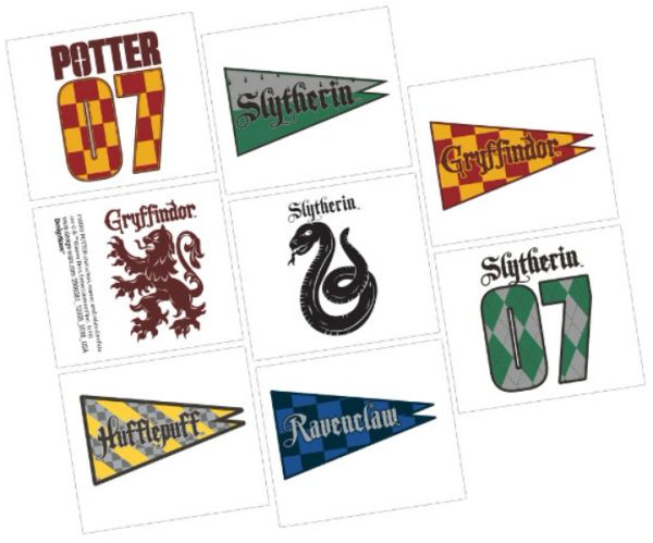 Harry Potter™ Tattoos, 8ct