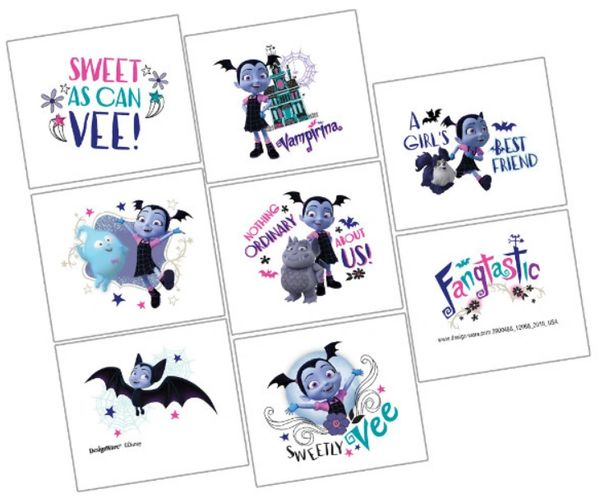 ©Disney Vampirina Tattoos, 8ct