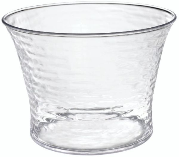 Hammered Clear Beverage Tub