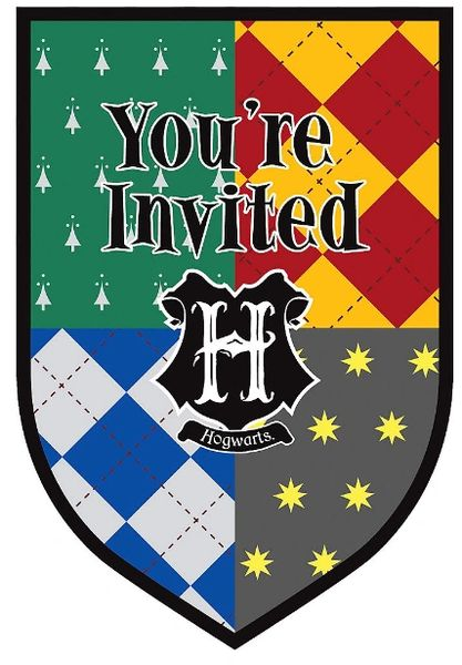 Harry Potter™ Postcard Invitations, 8ct