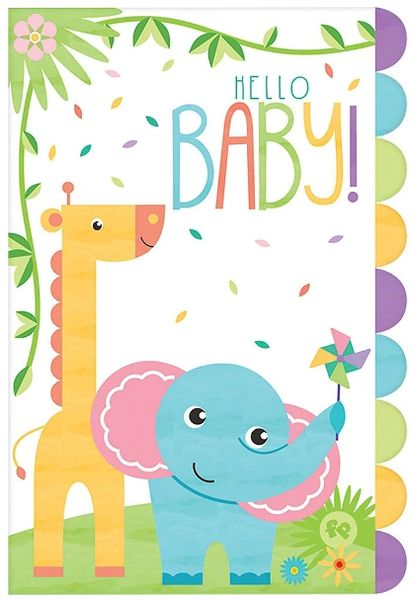 Fisher Price™ Hello Baby Postcard Invites, 8ct