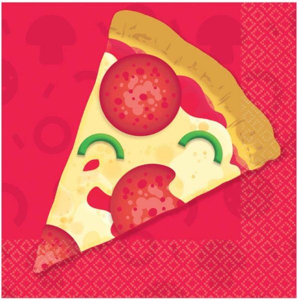 Pizza Party Beverage Napkins