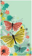 Bright Butterflies Guest Towels, 16ct