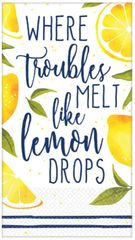 Lemons Guest Towels, 16ct