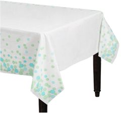 Shimmering Party Plastic Table Cover