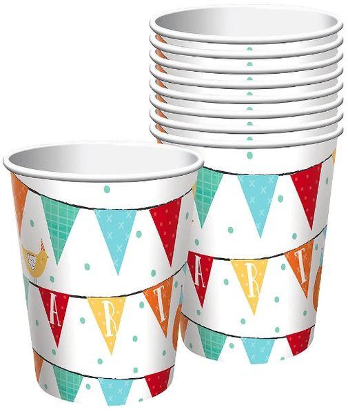 Barnyard Birthday Cups, 9 oz. - 8ct