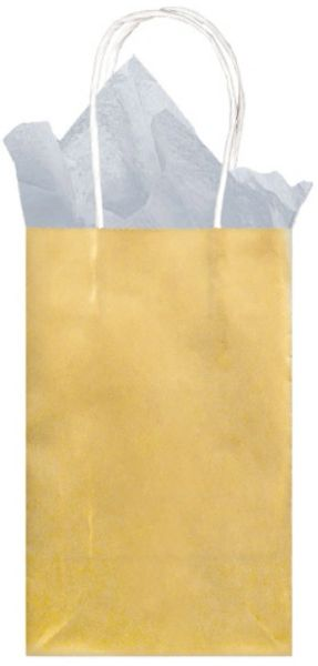 Small Paper Bag - Gold Foil