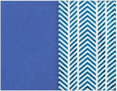 Blue Stripe Specialty Tissues & Solid Blue Tissue Paper Sheets, 8ct