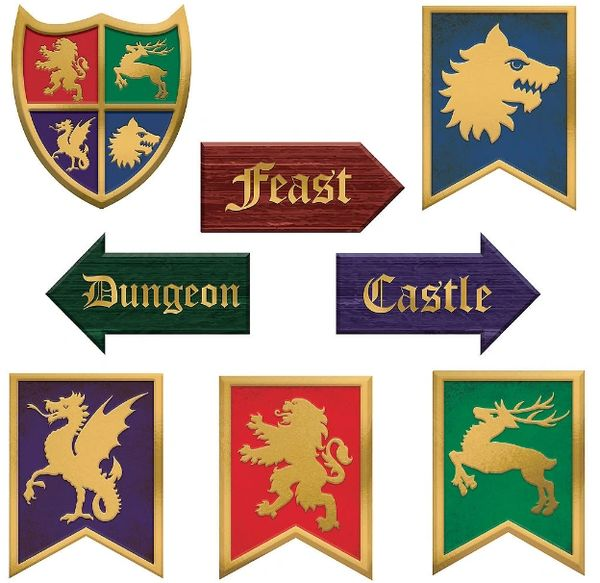 Medieval Cutouts, 12ct