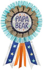Bear-ly Wait Papa Bear Award Ribbon