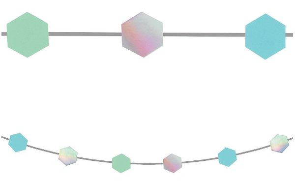 Shimmering Party Mini Garlands, 6ct - 7ft