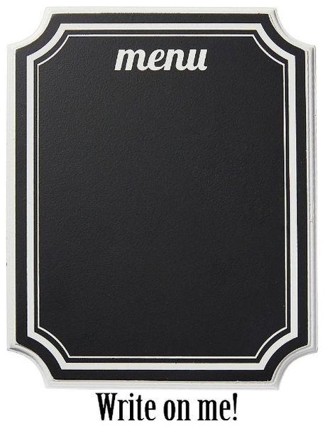 Eat & Enjoy Chalkboard Easel Sign
