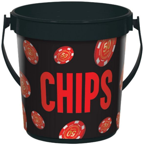 Roll the Dice Casino Chip Bucket