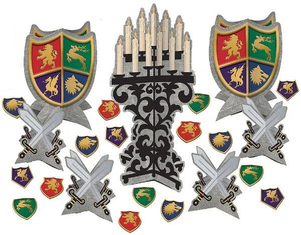 Medieval Table Decorating Kit, 27pc