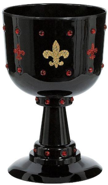 Black Medieval Goblet